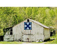 Kentucky Barn Quilt - Windmill Photographic Print