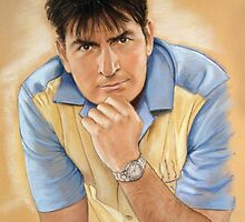 Charlie Sheen by MelannieD