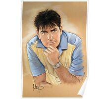 Charlie Sheen Poster