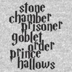 Stone Chamber Prisoner Goblet Order Prince Hallows by abcmaria