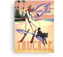 Ski Truckee! Canvas Print