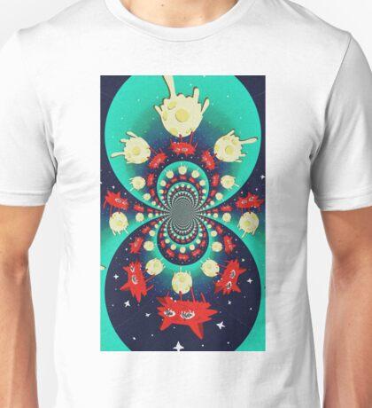 Simpsons Space Coyote - Kaleidoscope Unisex T-Shirt