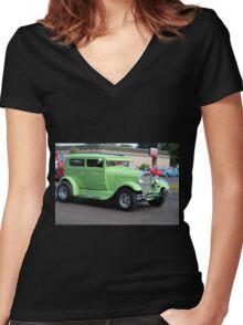 Nancy Women's Fitted V-Neck T-Shirt