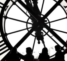 Clock, Musée d'Orsay, Paris. Sticker