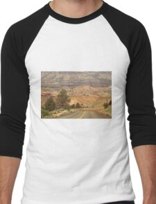 From Mitchell to Smith Rock ©  Men's Baseball ¾ T-Shirt