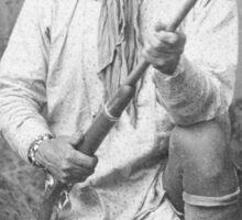 Geronimo Native American Tribe Leader Sticker