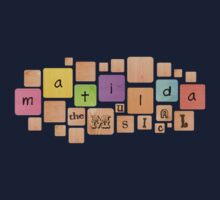 Matilda the Musical t-shirt by grcekang