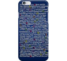 Matilda School Song iPhone Case/Skin
