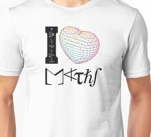 I (love) Maths Unisex T-Shirt