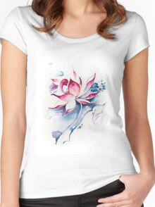 """""""Born for Freedom"""" from the series """"In the Lotus land"""" Women's Fitted Scoop T-Shirt"""