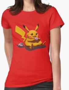 Pikachu Pokemon Womens Fitted T-Shirt