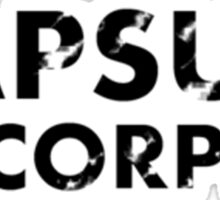 Capsule Corporation  Sticker