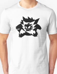 Ghastly Haunter Gengar Evolution. Pokemon Unisex T-Shirt