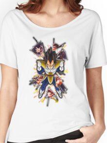 Dragon Ball Z: Vegeta vs Goku Women's Relaxed Fit T-Shirt