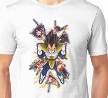 Dragon Ball Z: Vegeta vs Goku Unisex T-Shirt