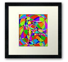 ms paint marble Framed Print