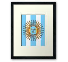 Viva Argentina! Framed Print