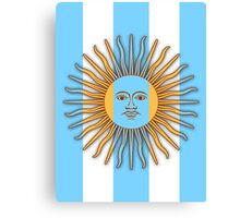 Viva Argentina! Canvas Print