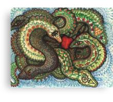 Snakeknot Canvas Print