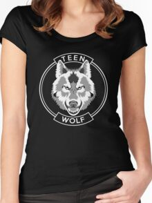 Teen Wolf Women's Fitted Scoop T-Shirt