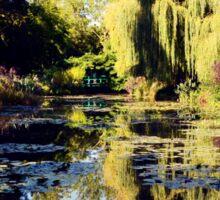 Fondation Claude Monet à Giverny. Sticker