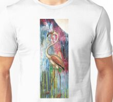 MOONLIGHT FLAMINGO Unisex T-Shirt