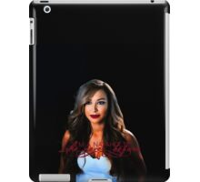 >>Like never before official gadget of Naya Rivera's fanpage iPad Case/Skin