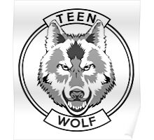 Teen Wolf (Black) Poster