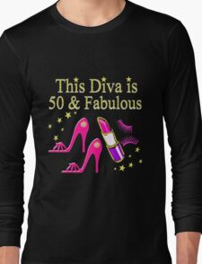 DAZZLING AND FABULOUS 50 YEAR OLD Long Sleeve T-Shirt