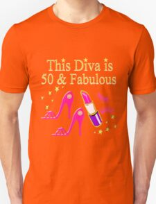 DAZZLING AND FABULOUS 50 YEAR OLD Unisex T-Shirt