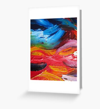 Tribal Touches Greeting Card