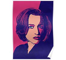 Icons - Gillian Anderson Poster