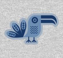 Blue toucan, Bird,  Baby Tee