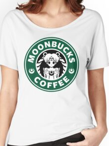 Moonbucks Coffee Women's Relaxed Fit T-Shirt