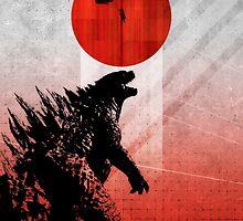Godzilla by Matt Rockman