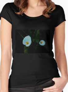 Double Calla Women's Fitted Scoop T-Shirt