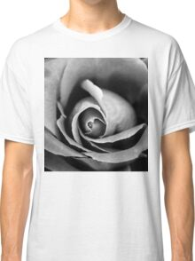 Black and white Rose Classic T-Shirt