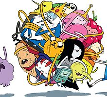 Adventure time drawing. by TheCartoonGuy