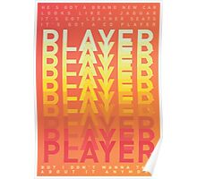 Player Player Player - Buck Rogers by Feeder Poster