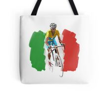 Maillot Jaune , Italy Flag Tote Bag