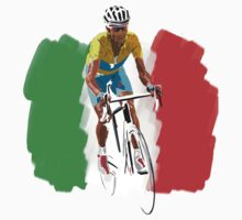 Maillot Jaune , Italy Flag by Andy Farr