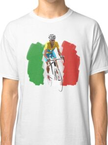 Maillot Jaune , Italy Flag Classic T-Shirt