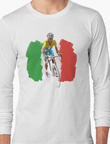 Maillot Jaune , Italy Flag Long Sleeve T-Shirt
