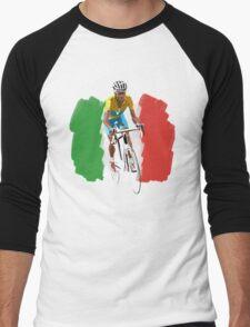 Maillot Jaune , Italy Flag Men's Baseball ¾ T-Shirt