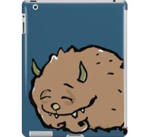 small sleeping monster iPad Case/Skin