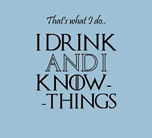 Drink & Know tshirt Unisex T-Shirt