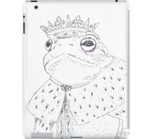King Toad iPad Case/Skin