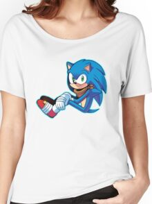 Sonic The Hedgehog/Sonic Boom  Women's Relaxed Fit T-Shirt
