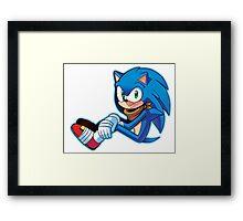 Sonic The Hedgehog/Sonic Boom  Framed Print
