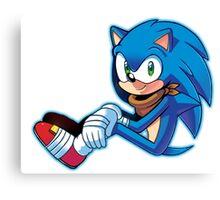 Sonic The Hedgehog/Sonic Boom  Canvas Print